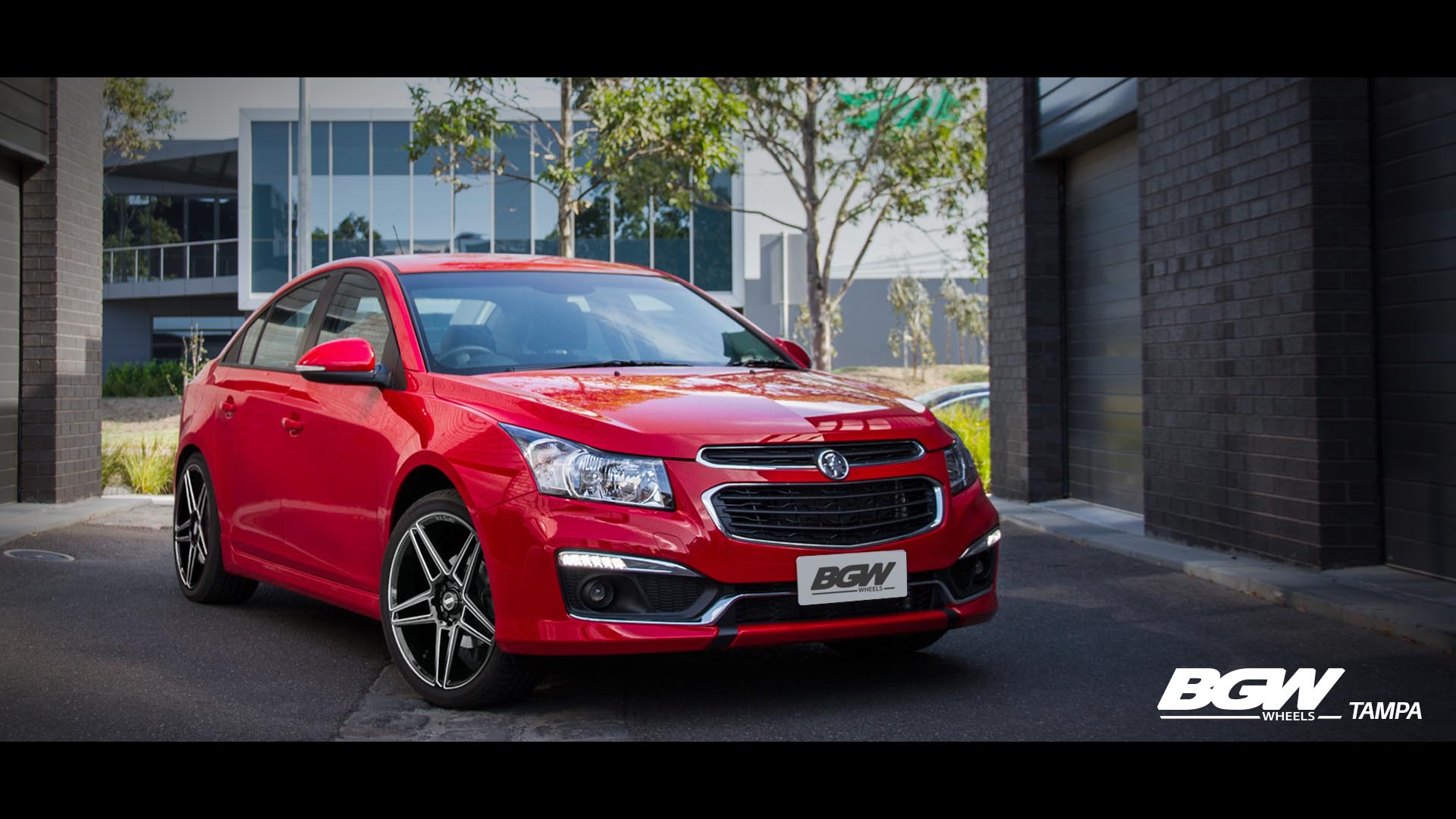 Holden Cruze on BGW Tampa