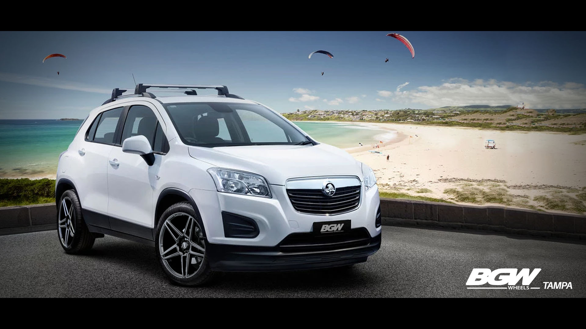 Holden Trax on BGW Tampa