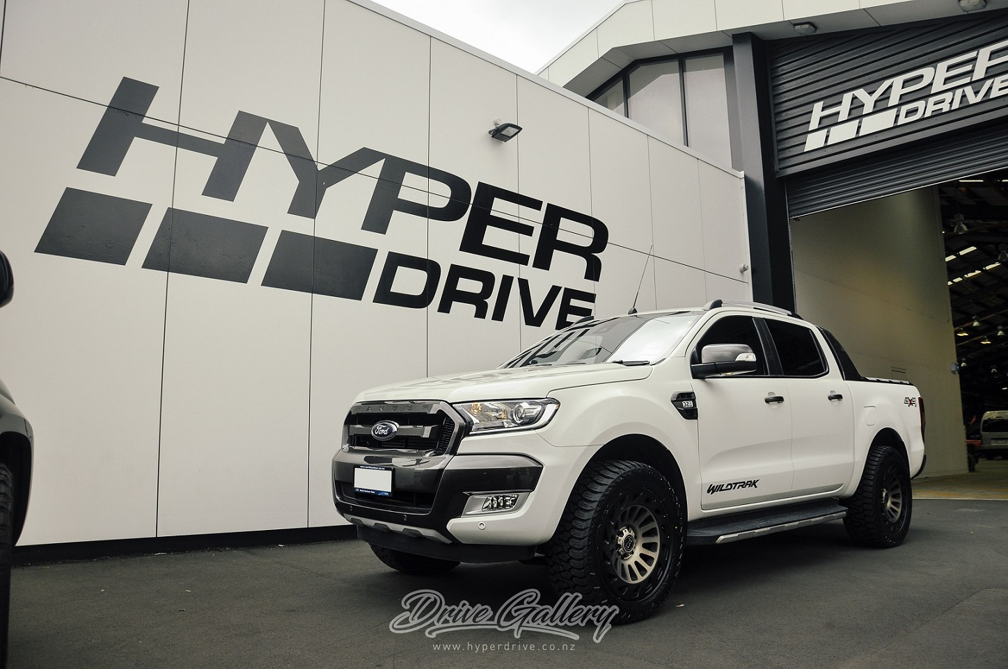 Ford Ranger on Black Rhino Madness & AMP AT's