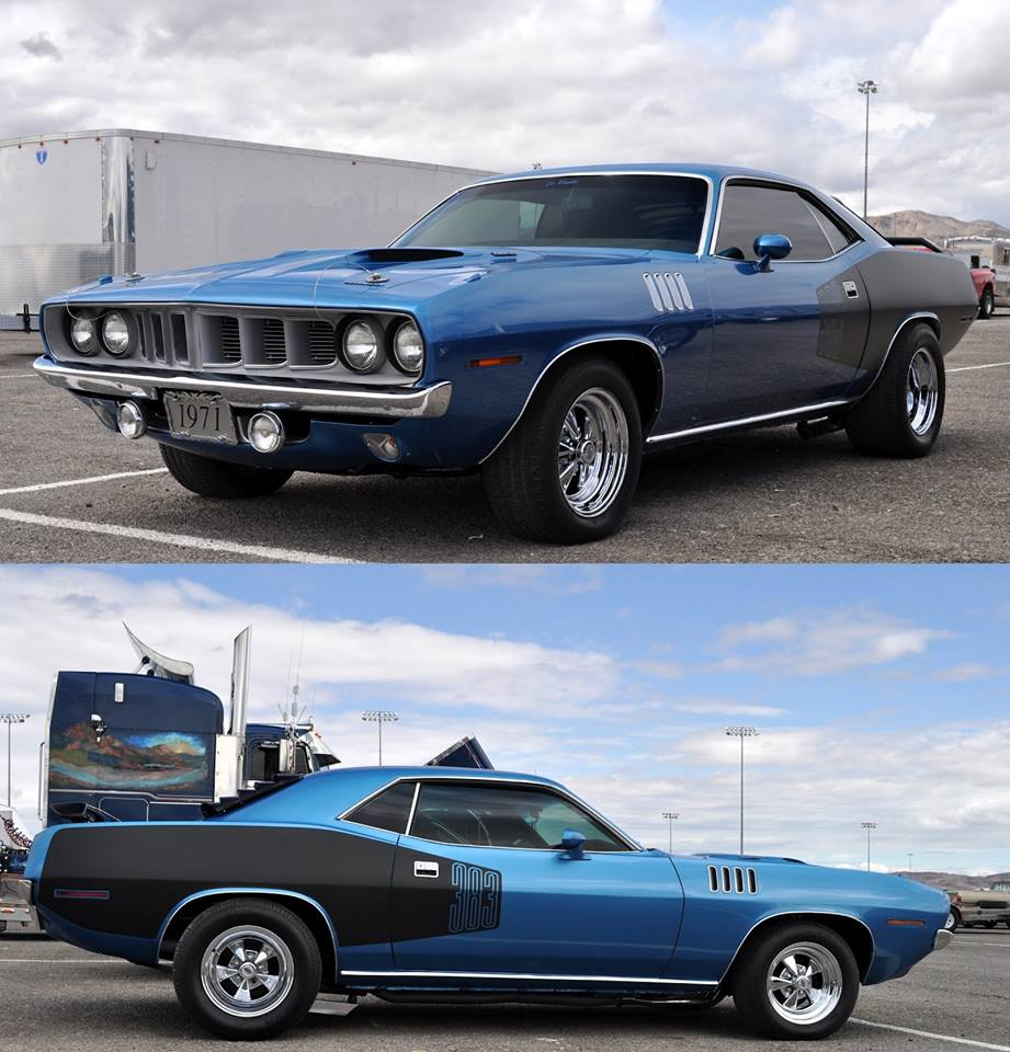 Plymouth Cuda on Cragar S/S