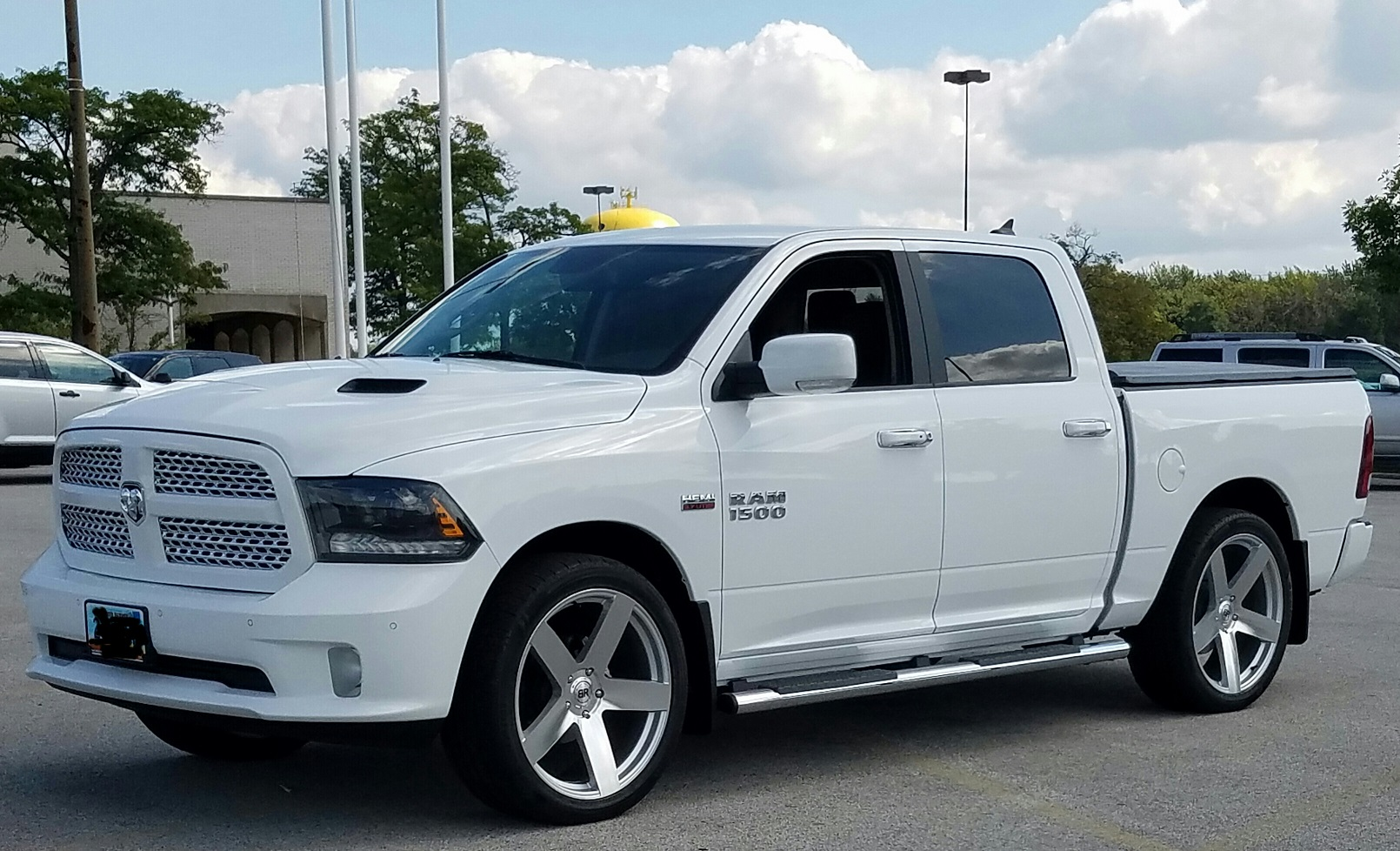 Dodge Ram 1500 on Black Rhino Everest