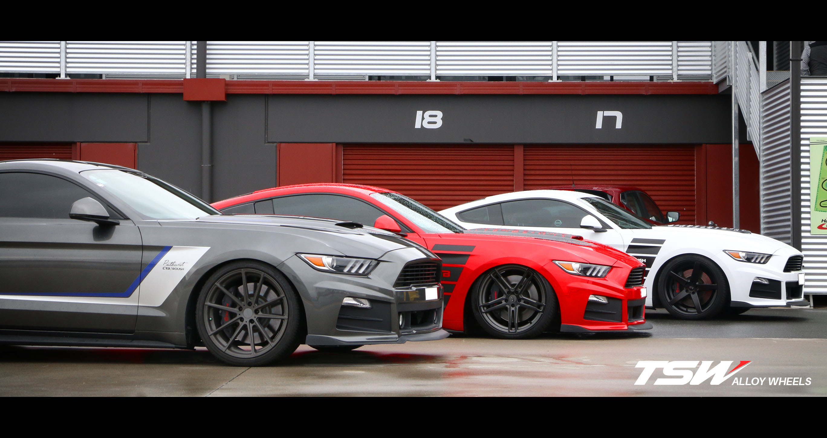 Ford Mustang on TSW Bathurst , Mechanica & Sochi