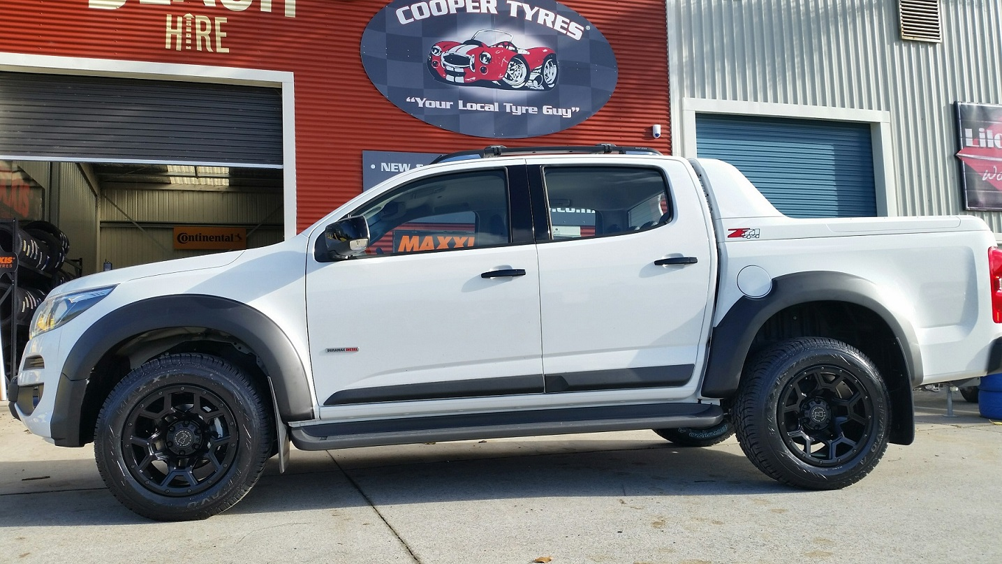Holden Colorado on Black Rhino Overland