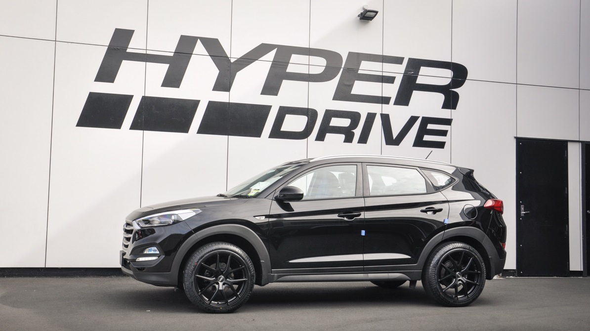 Hyundai Tucson on BGW Spiker
