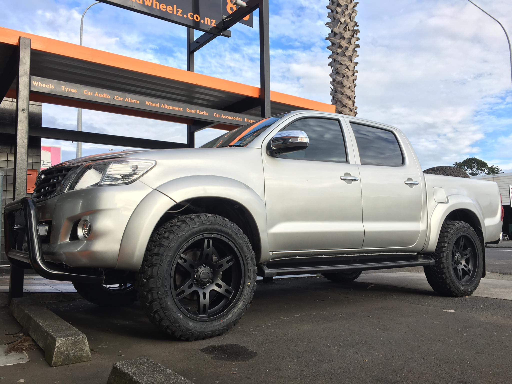 Toyota Hilux on BGW Delta