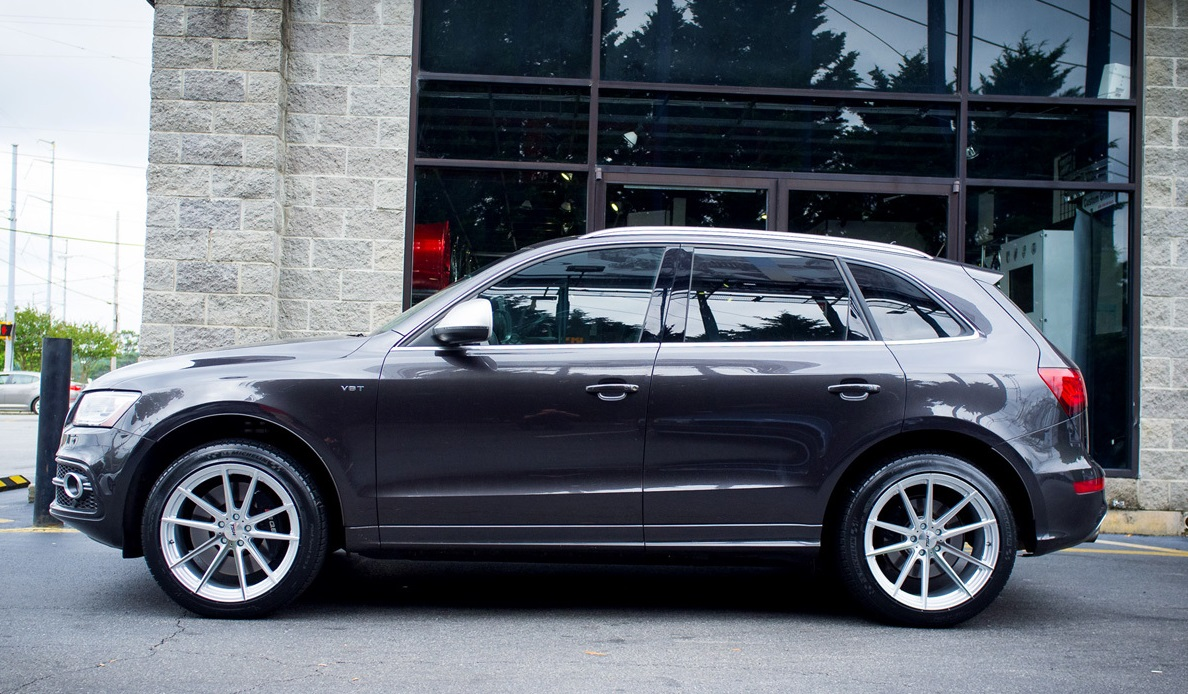 Audi Q5 on TSW Bathurst