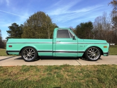 Chev C10 on Ridler R650