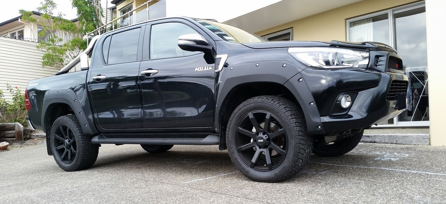 Toyota Hilux on BGW Reload