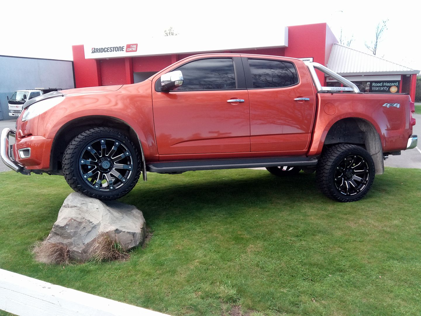 Holden Colorado on Black Rhino Selkirk & AMP A/T