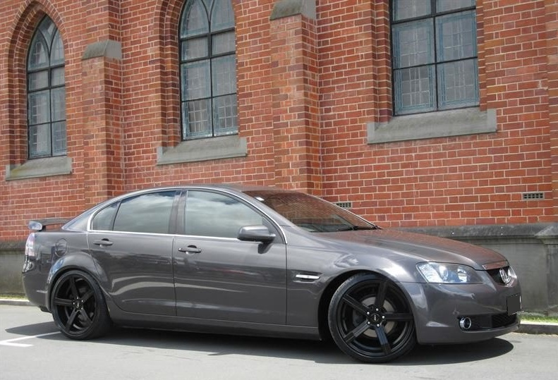 Holden Commodore on BGW Prague
