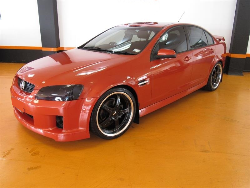 Holden Commodore on BGW Rampage