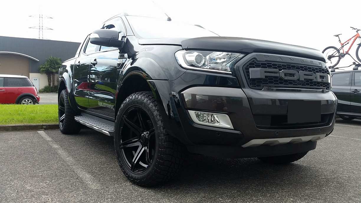 Ford Ranger on BGW Tempest and Delium AT's