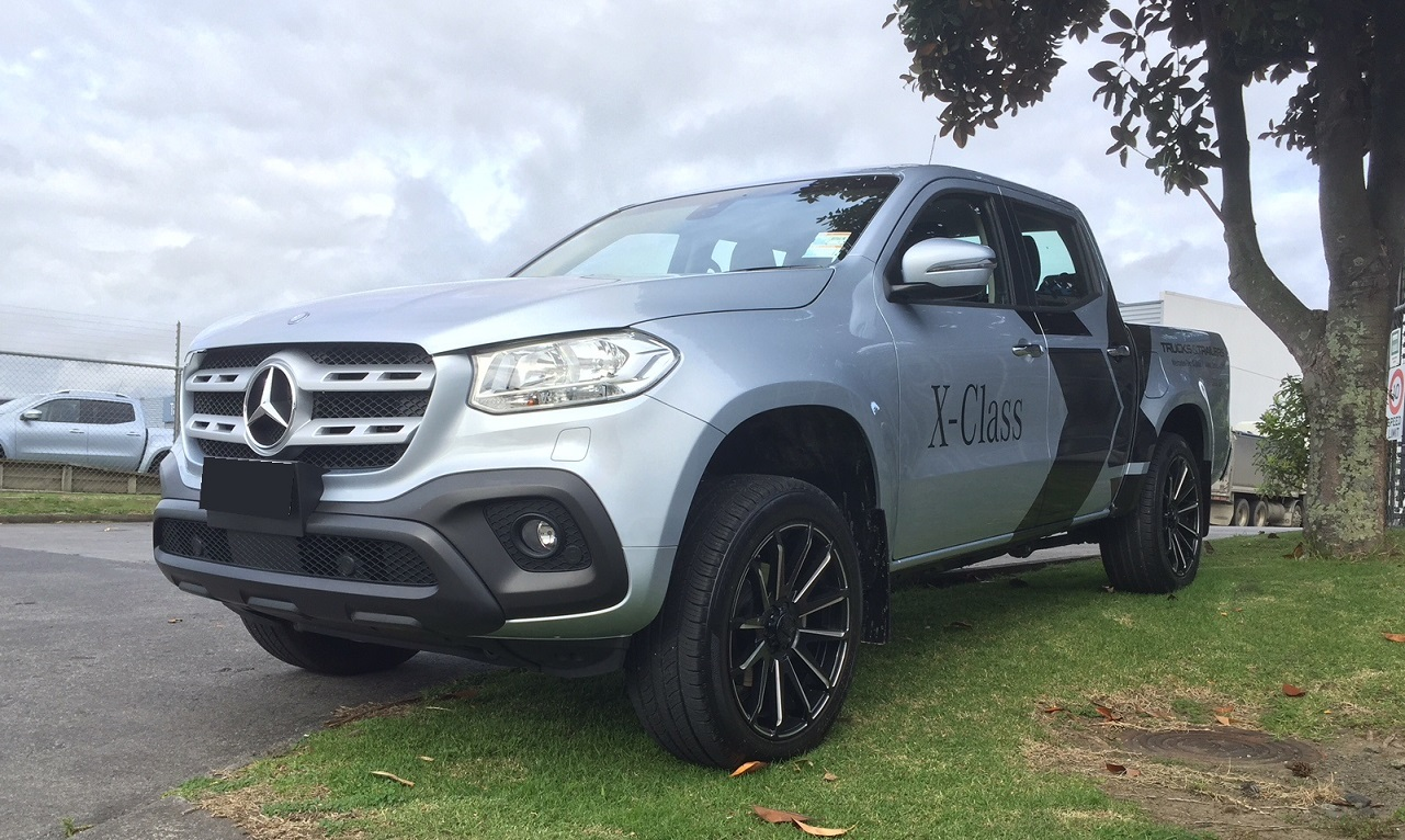 Mercedes X Class on BGW CrossFire 275/45R20 Boto