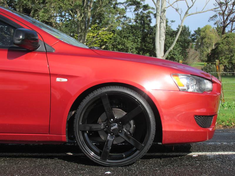 Mitsubishi Lancer on BGW Torque