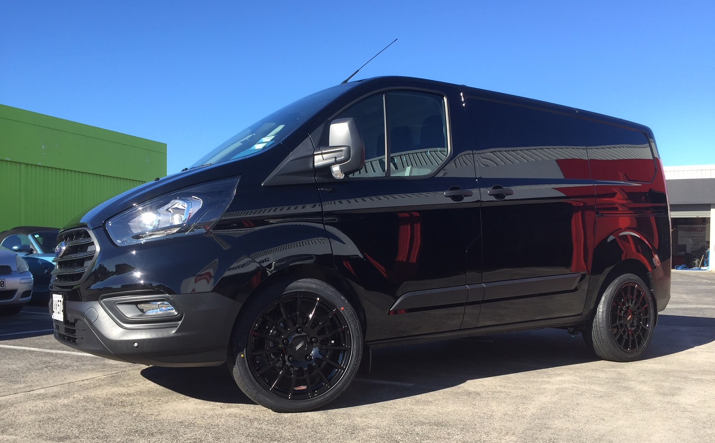 Ford Transit custom on BGW Transporter