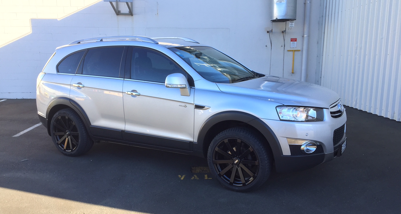 Holden Captiva on BGW VM12