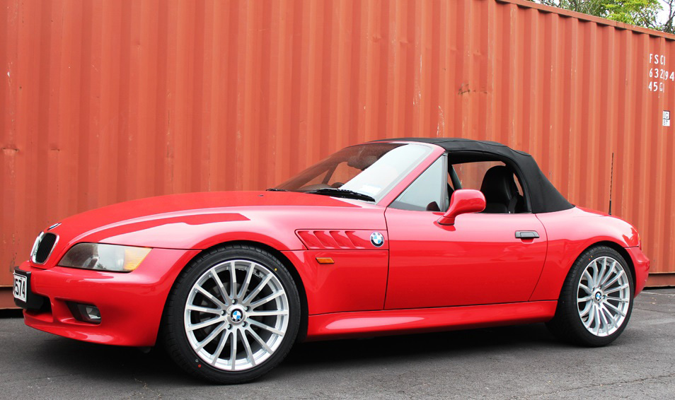 BMW Z3 on TSW Mallory