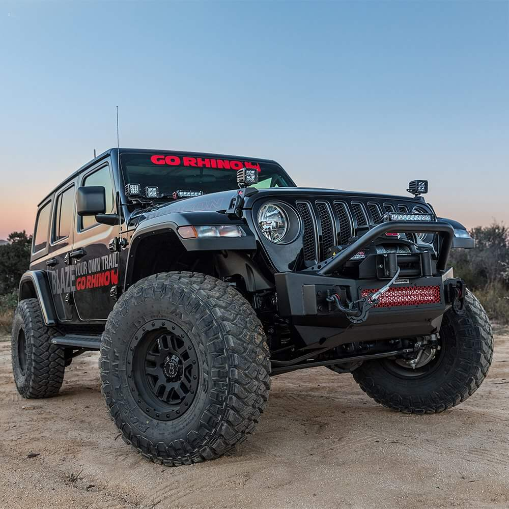 Jeep Wrangler on Black Rhino Barstow