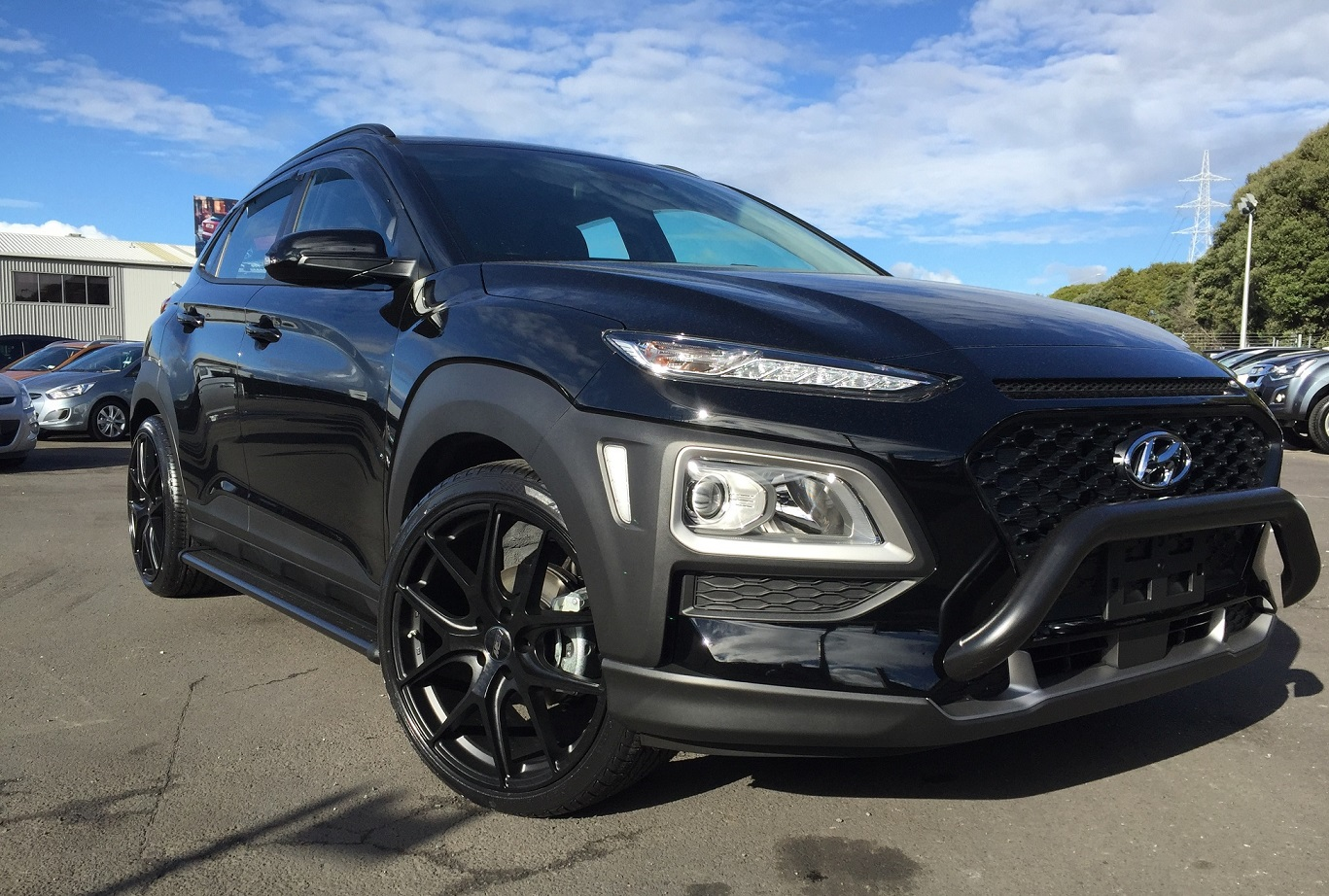 Hyundai Kona on BGW Spiker