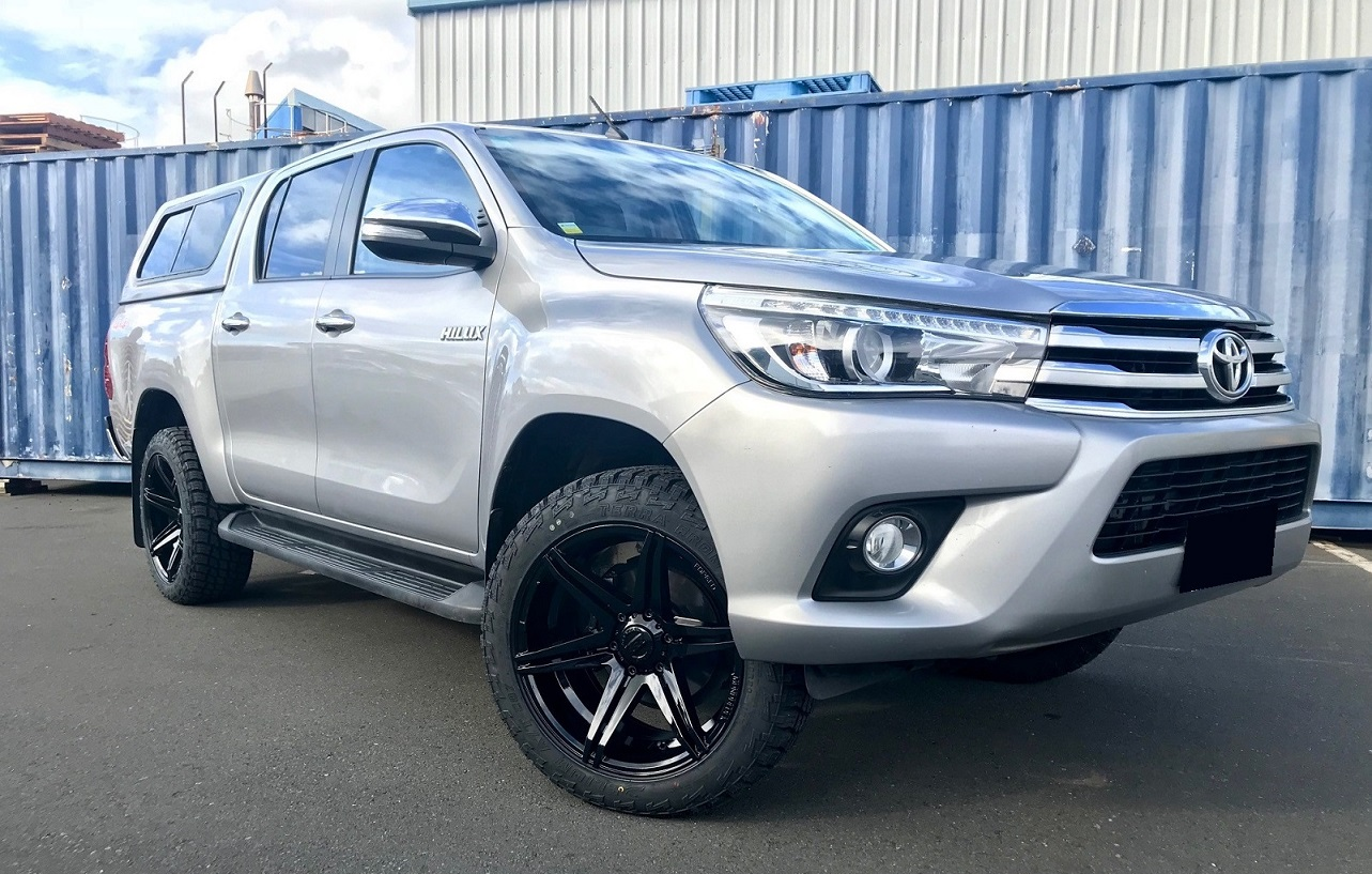 Toyota Hilux on BGW Tempest