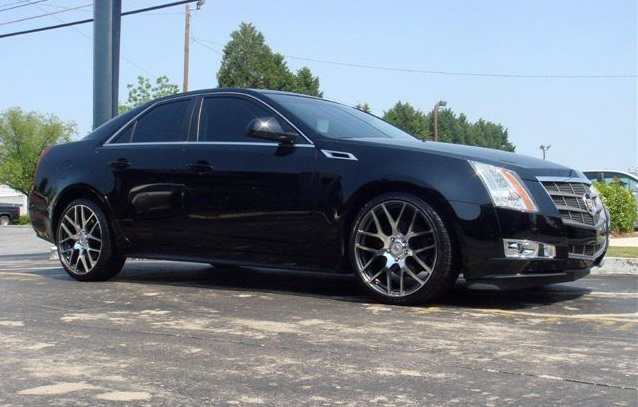 Cadillac CTS on TSW Nurburgring