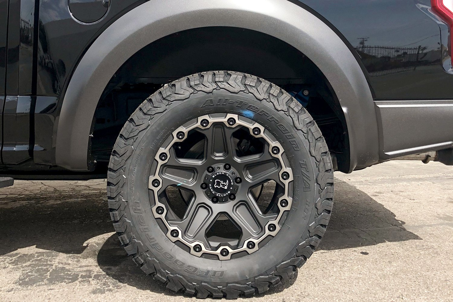 Ford F150 on Black Rhino Cog