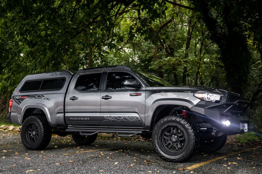 Toyota Tacoma on Black Rhino Barstow