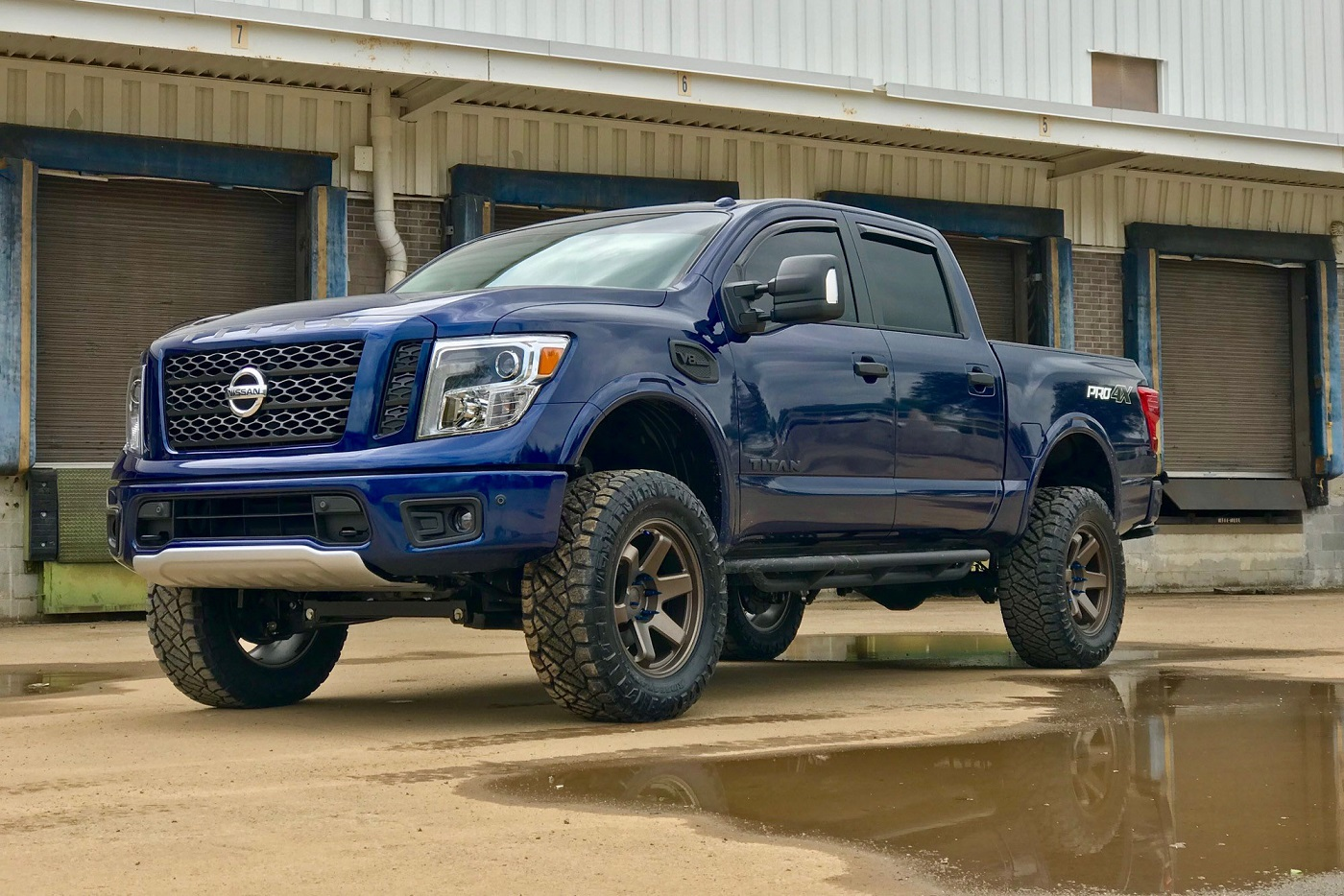 Nissan Titan on Black Rhino Roku