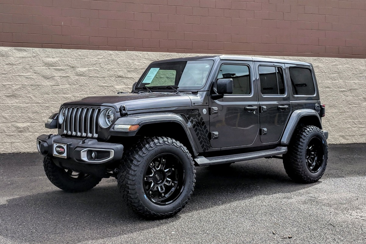 Jeep Wrangler on Black Rhino Locker