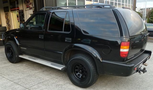 Chev Blazer on Black Rock Type D