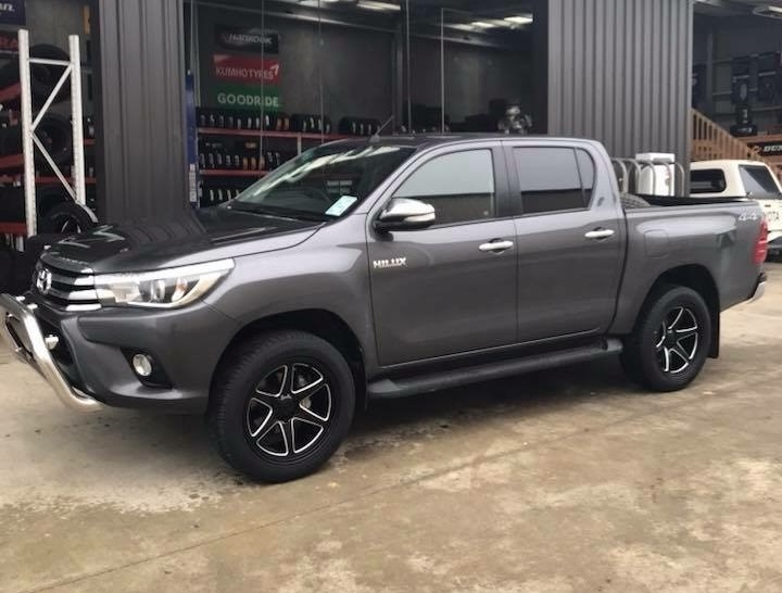 Toyota Hilux on BGW Escobar