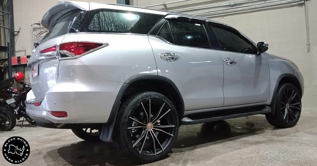 Toyota Fortuner on Black Rhino Zion