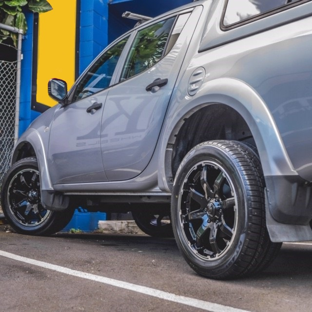 Mitsubishi Triton on BGW Motion