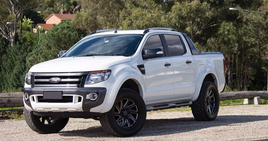 Ford Ranger on Black Rhino Thrust