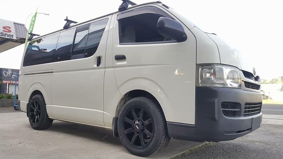 Toyota Hiace on BGW Reload