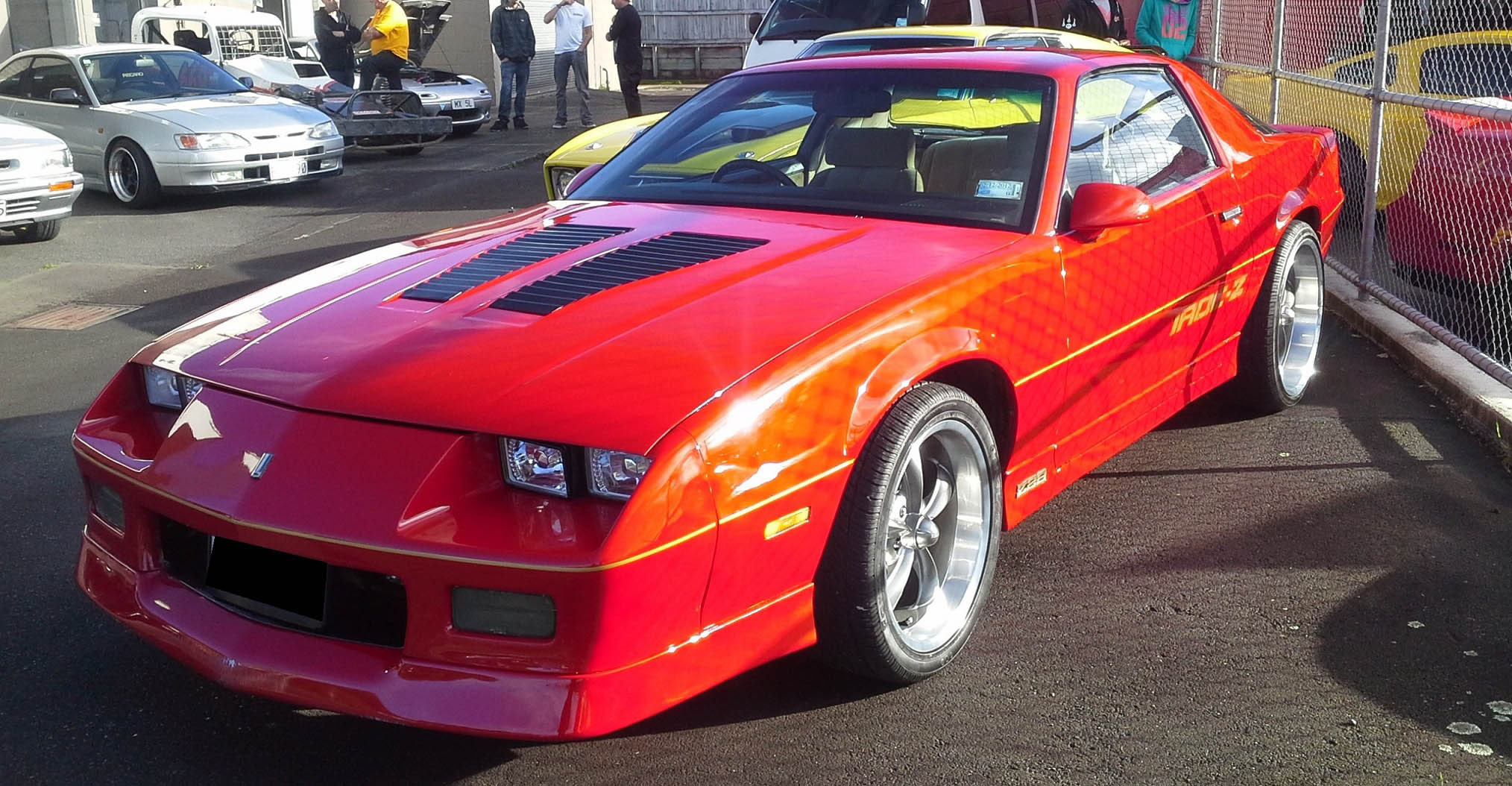 Chev Camaro on Ridler R695