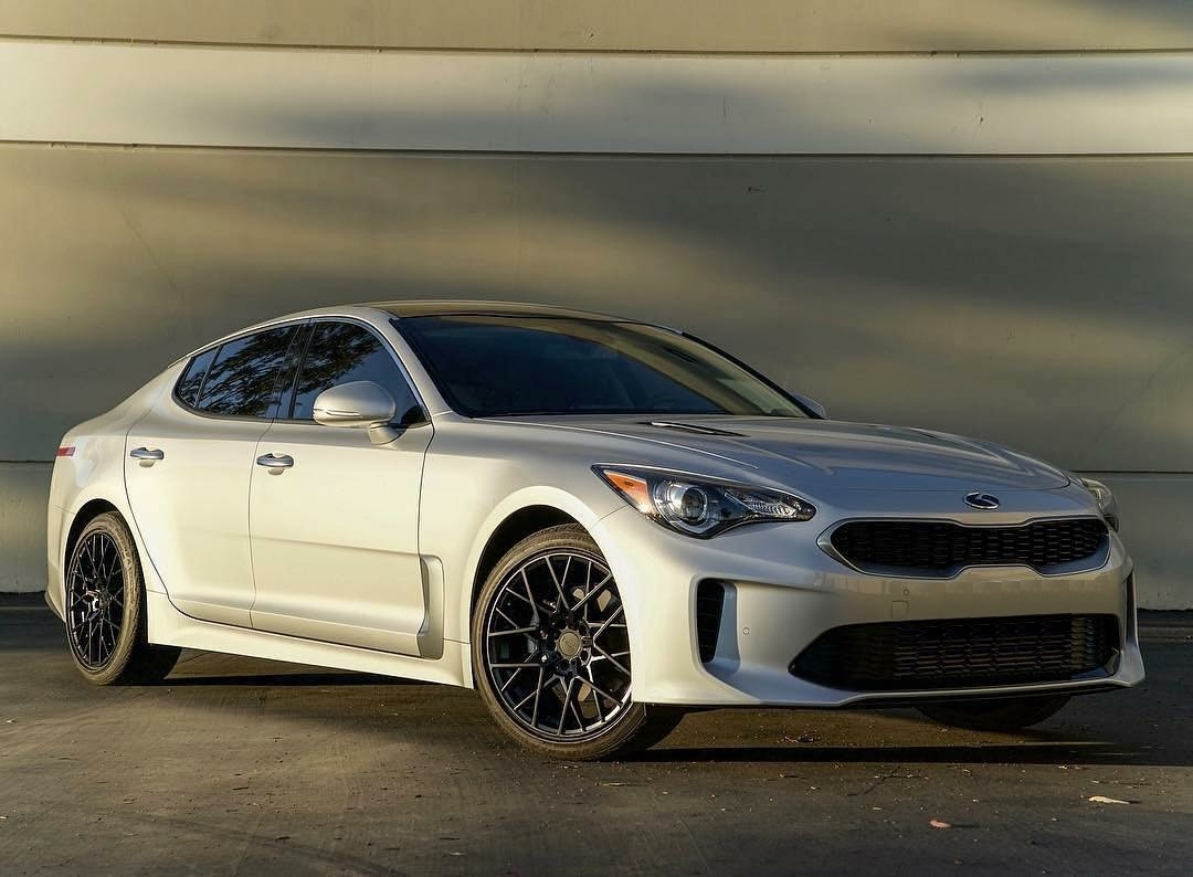 Kia Stinger on TSW Sebring