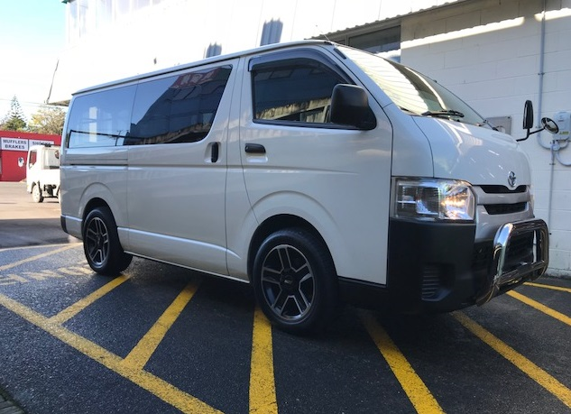 Toyota Hiace on BGW Trader