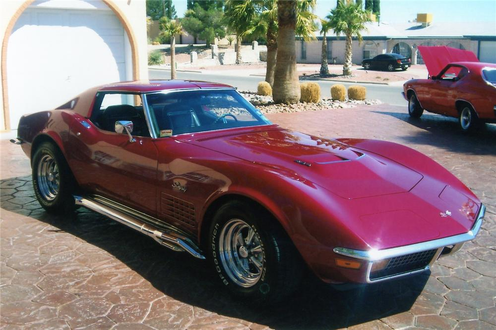 Chevrolet Corvette on Cragar SS