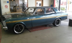 Ford Falcon on Ridler R695