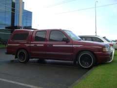 Ford Courier on Black Rock Type D