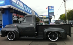 Ford F100 on Ridler R695