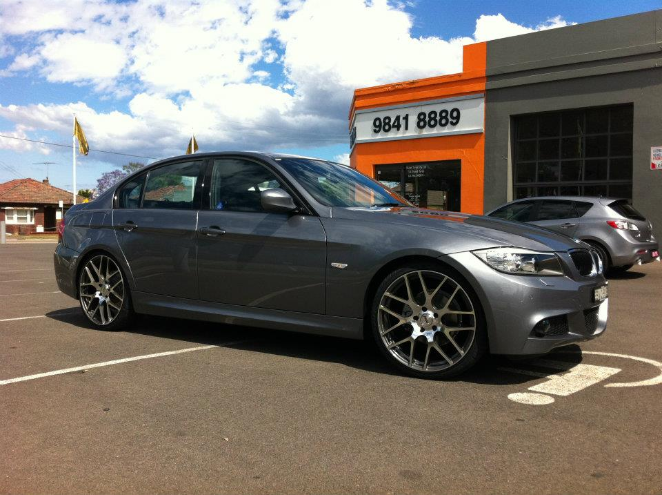BMW 3 Series on TSW Nurburgring