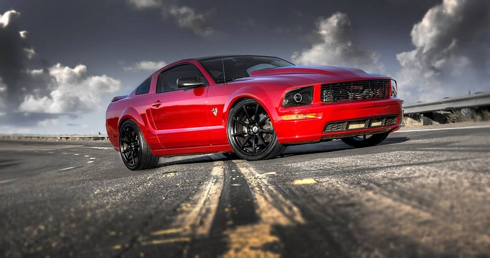 Ford Mustang on TSW Interlagos