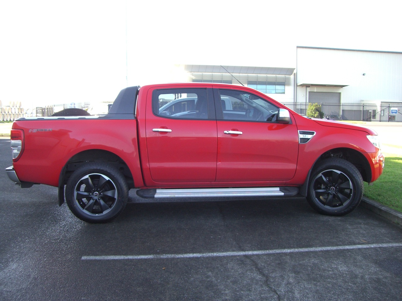 Ford Ranger on MAK Raptor 6