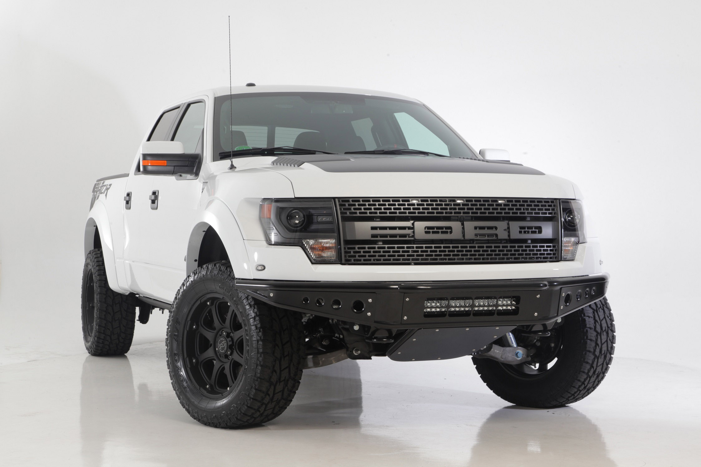 Ford Raptor on Black Rhino Glamis