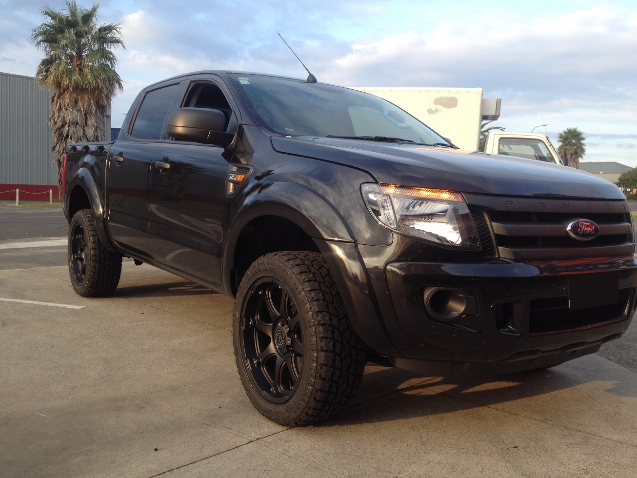 Ford Ranger on Black Rhino Glamis