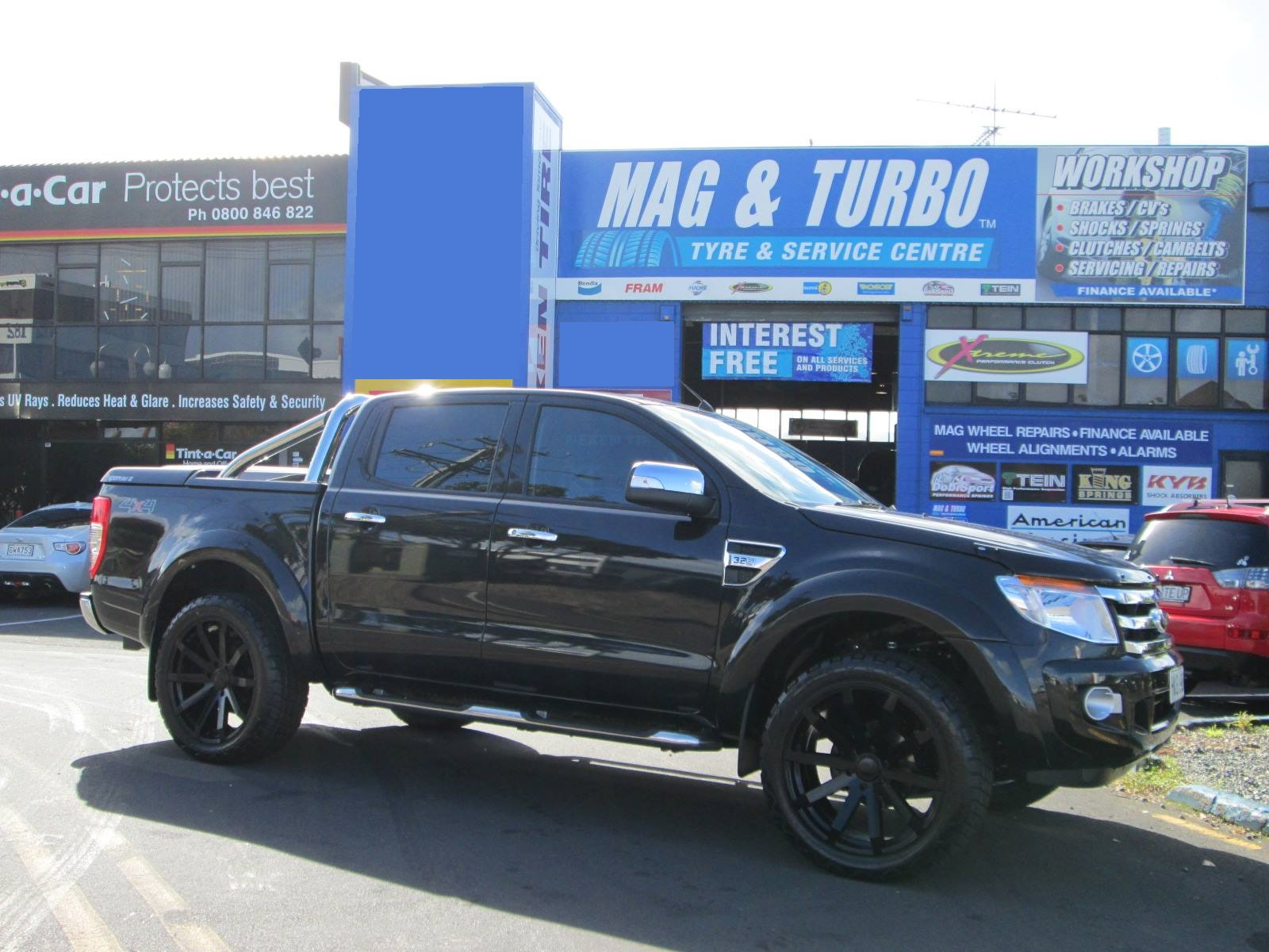 Ford Ranger on Black Rhino Traverse
