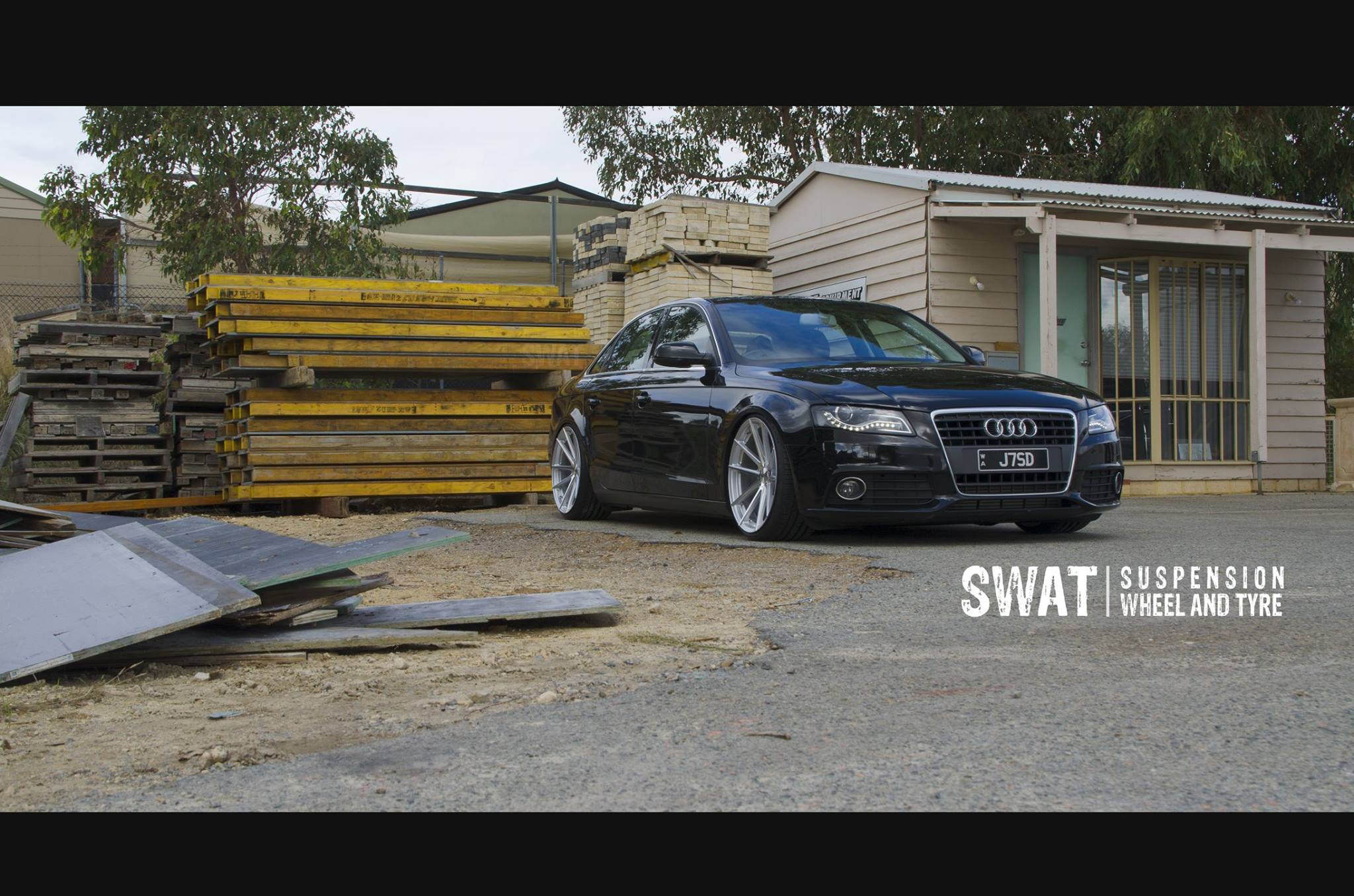 Audi A4 on TSW Bathurst
