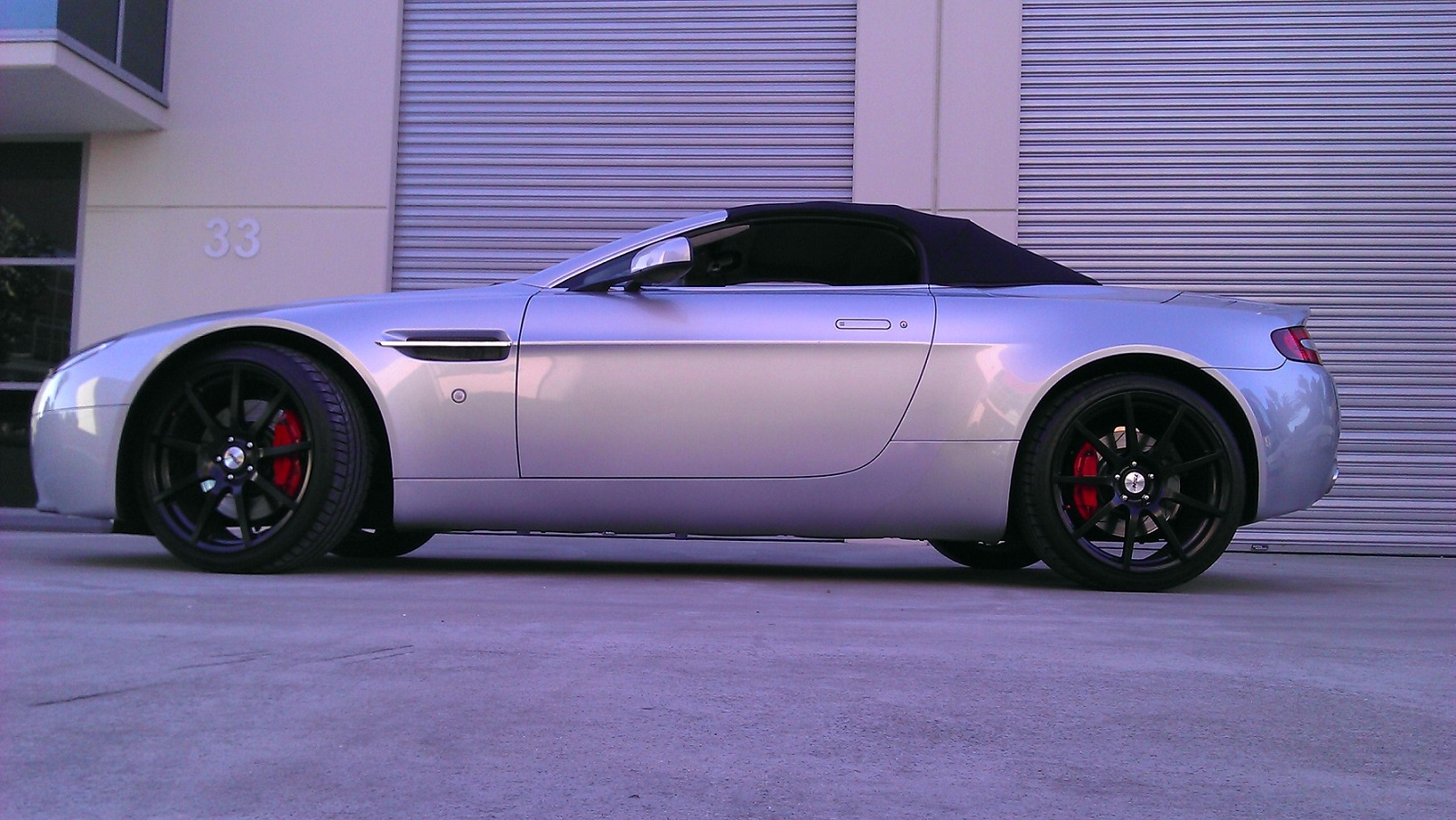 Aston Martin Vantage on TSW Interlargos
